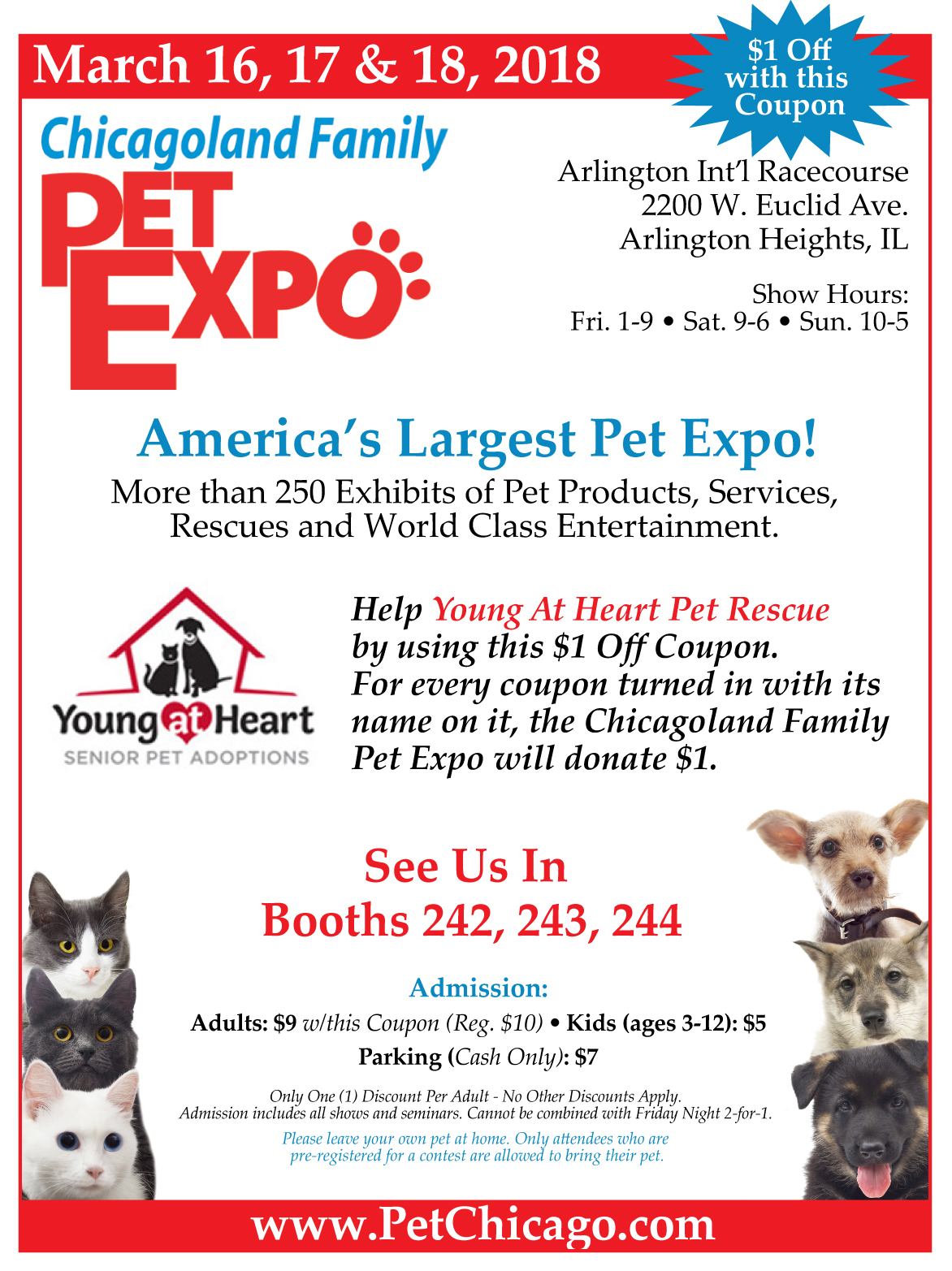 Chicagoland Famliy Pet Expo