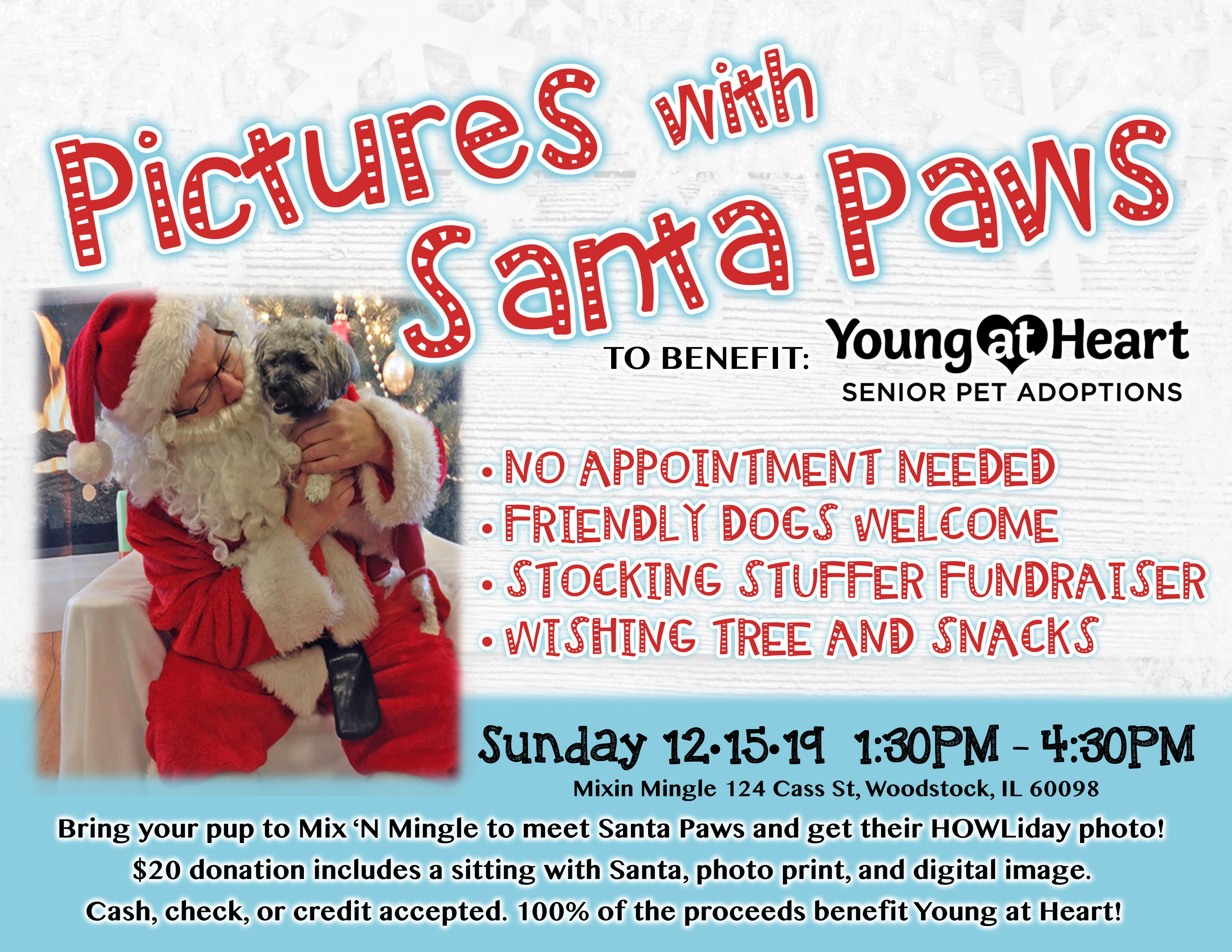 Pictures with Santa Paws 2019