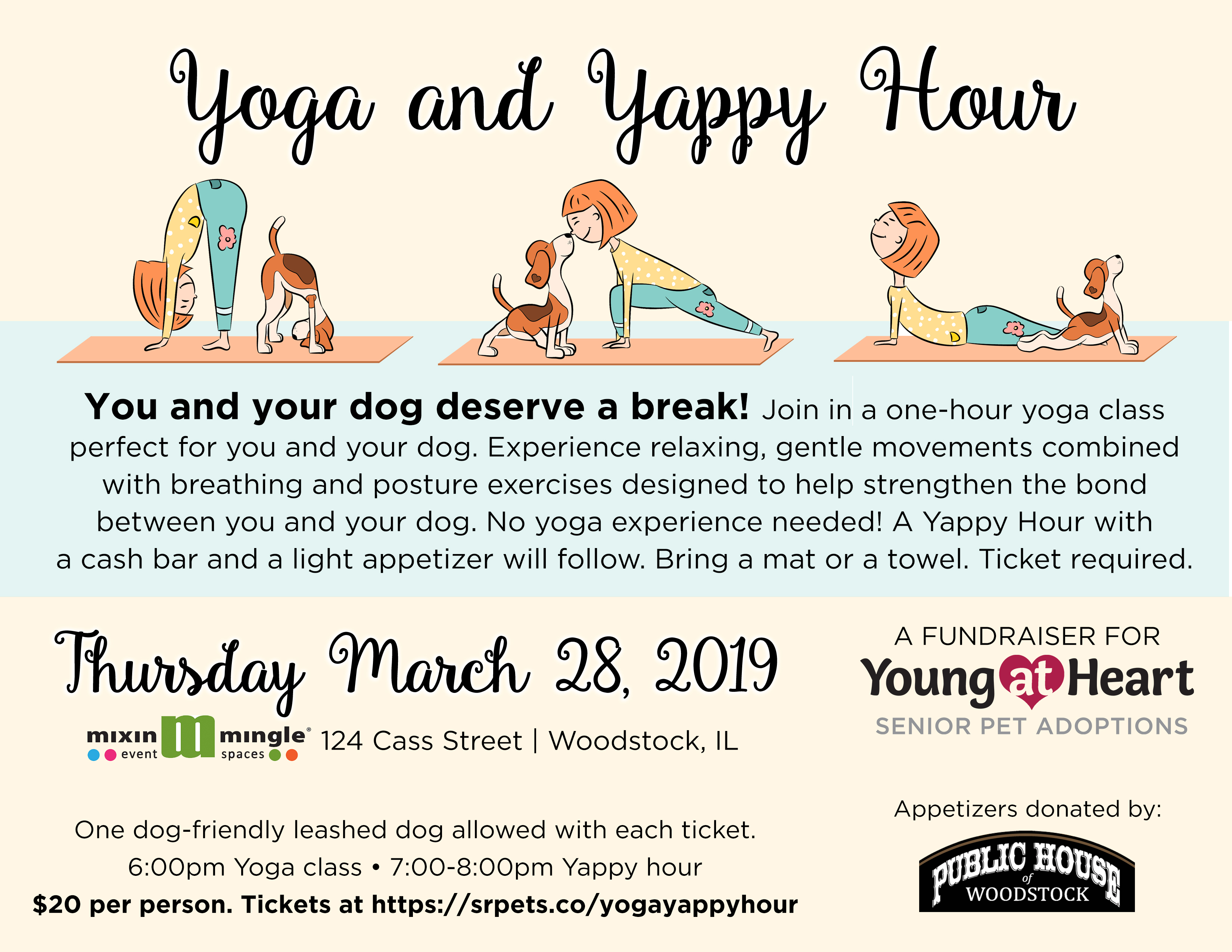 Yoga and Yappy Hour