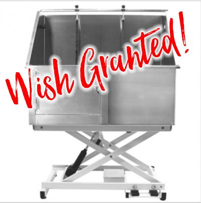 wish granted tub