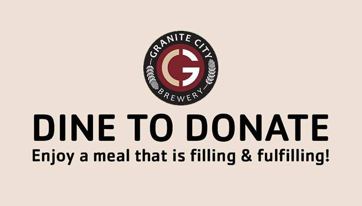 Dine to Donate Granite City