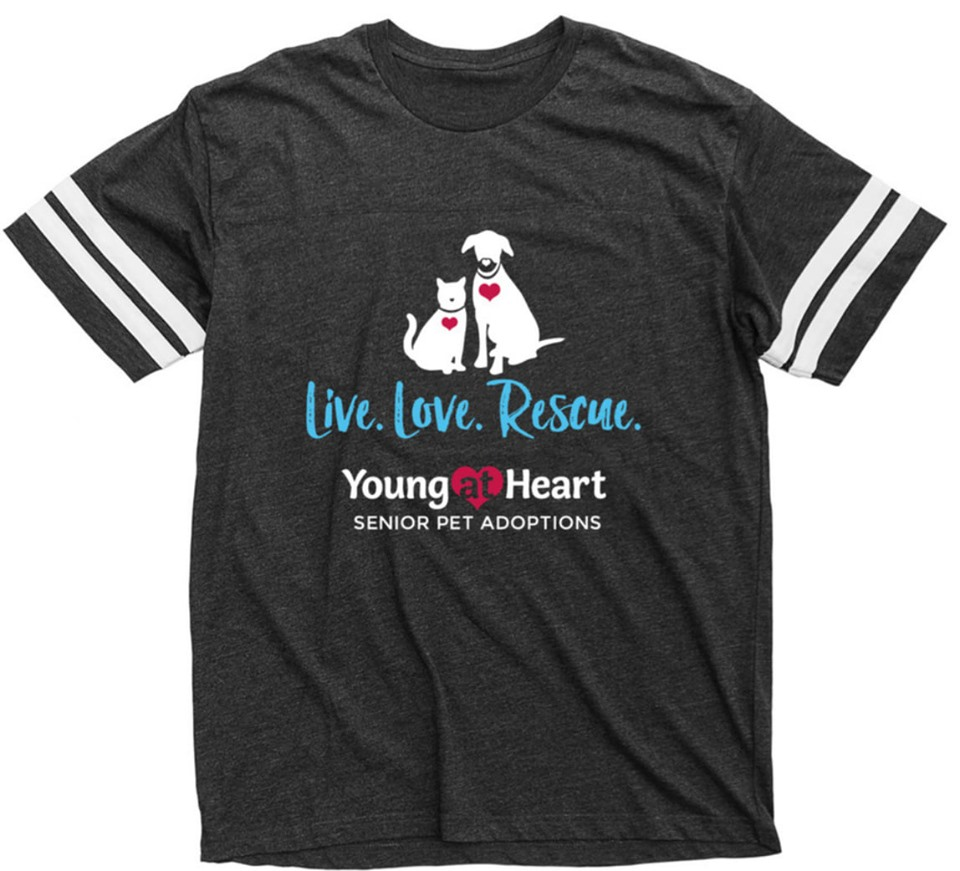 T-Shirt for Young at Heart Senior Pet Rescue